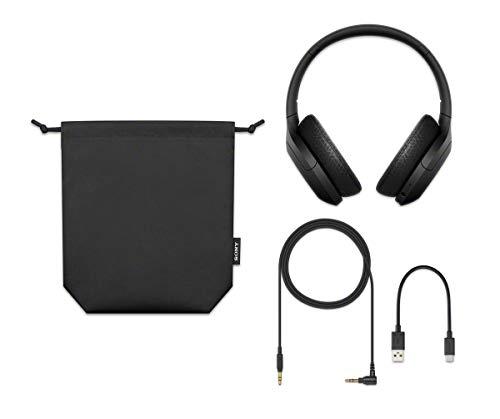 Sony WH-H910N kabellose High-Resolution Kopfhörer (Noise Cancelling, Bluetooth, Ambient Sound Modus, Quick Attention Modus, bis zu 40 Std. Akkulaufzeit) schwarz - 9
