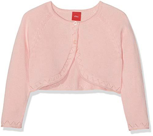 s.Oliver Baby-Mädchen Strickjacke 65.903.64.8721 Rosa (Light Rose 4136), (Herstellergröße: 80)