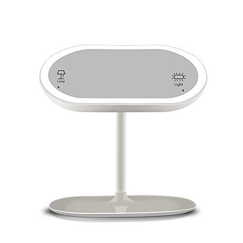 LED-Fülllicht Schminkspiegel USB-Ladetischlampe Tragbare Spiegel Kosmetik drehbar Einstellbare Nachtlicht