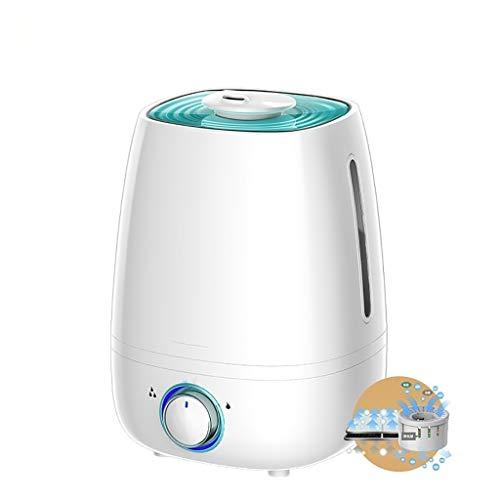 Luftbefeuchter Startseite Mute Schlafzimmer große Kapazitäts-Office-Luftreinigung Kleine Mini Aromatherapie (Color : White)