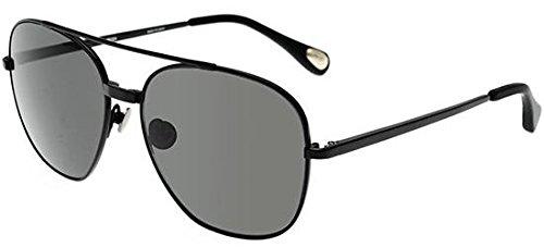 linda-farrow-ann-demeulemeester-12-black-rechteckig-silber-herrenbrillen-black-greyc4-f-53-15-140