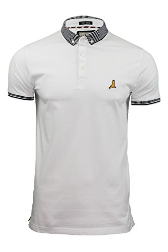 brave-soul-mens-glover-short-sleeve-casual-polo-tshirt-optic-white-small