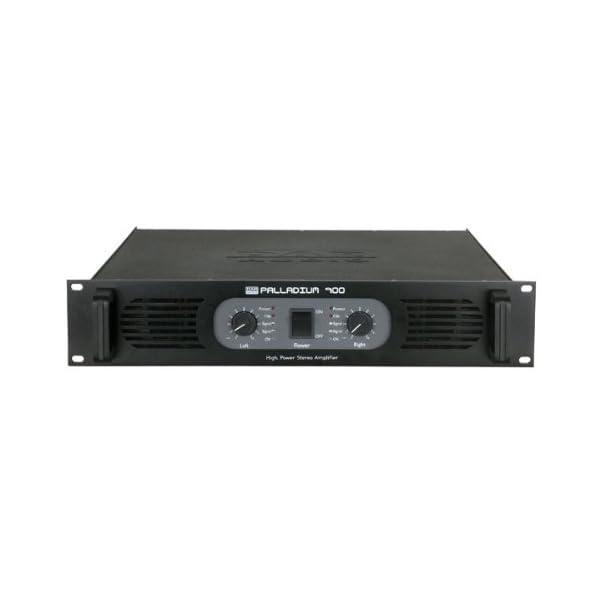 DAP-Audio P-900 Wired Black audio amplifier - audio amplifiers (A/B, 0.05%, 105 dB, 525 W, 350 W, 1050 W)