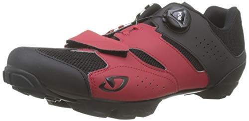 Giro Herren Cylinder Radsportschuhe-Mountainbike, Mehrfarbig (Dark Red/Black 5), 48 EU