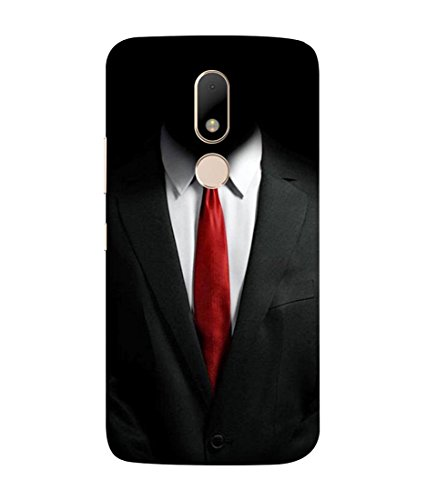 PrintVisa Designer Back Case Cover for Motorola Moto M (Suit shirt tie formal decent)  available at amazon for Rs.385