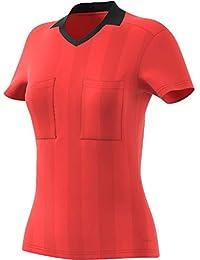 Adidas Referee 18 Camiseta, Todo el año, Mujer, Color Brired, tamaño Extra