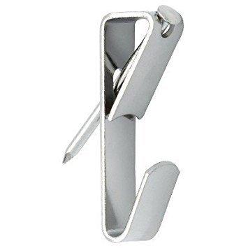 Infinity 30LB Bild Kleiderbügel, unterstützt bis zu 30Pfund 100-pack Silber (Silber Pfund)