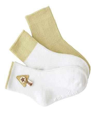 3 Paare Babysocken,Anti Rutsch Socken für 0-36 Monate Baby Mädchen und Jungen Hochelastische Socken Atmungsaktiv Bequem YO-S