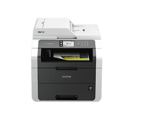 Brother MFC-9140CDN - Impresora multifunción láser color (LED, fax, red cableada, impresión automática a doble cara)