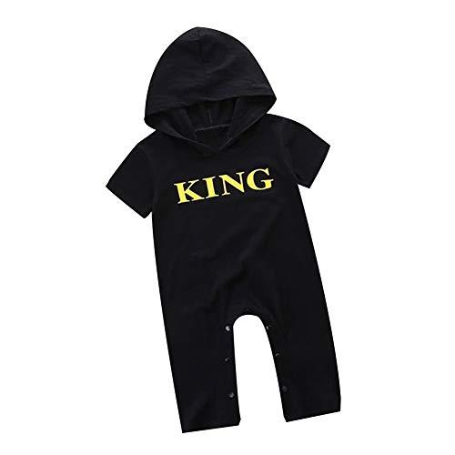 Korsett Kostüm Von 9 7 - strimusimak Baby Kind Jungen mit Kapuze Spielanzug Ausstattungs Overall Baumwollkleidung Gold & Black 6-12M