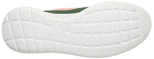 Nike Wmns Roshe One Retro, Chaussures de Running Compétition Femme Multicolore (Green/Orange)