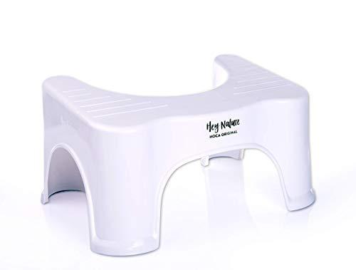 HOCA medizinischer Toilettenhocker gegen Hämorrhoiden, Verstopfung, Reizdarm, Blähungen, Blähbauch - das einfache & effektive Mittel - auch zur Darmreinigung, Entgiftung - für eine gesunde Darmflora