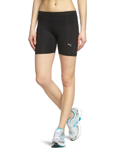 Damen Running Kurze Puma (PUMA Damen kurze Laufhose CR Core Tight, black, M, 509720 01)
