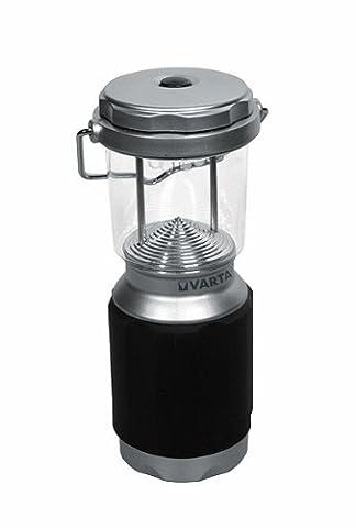 Varta 8x 5mm LED XS Campin Lantern Campinglampe Gartenlaterne Zeltlampe Laterne Leuchte Lampe Taschenlampe Flashlight - mit Karabiner - ideal für Camping, Angeln, Garage, Notfall,