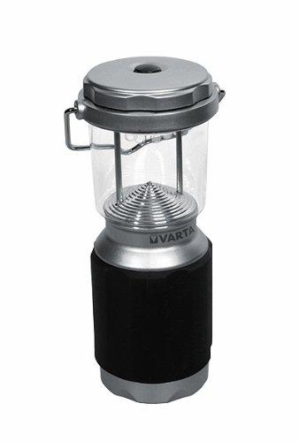 Varta 8 x 5mm LED XS Campin Lantern Campinglampe Gartenlaterne Zeltlampe Laterne Leuchte Lampe Taschenlampe Flashlight (mit Karabiner geeignet für Camping, Angeln, Garage, Notfall, Stromausfall)