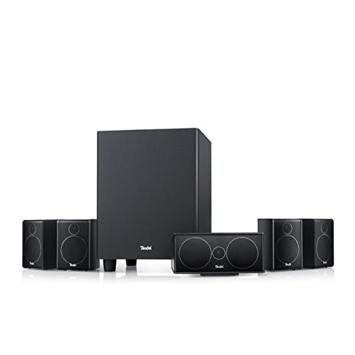 Teufel Consono 25 Mk3 5.1-Set Schwarz Heimkino Lautsprecher 5.1 Soundanlage Kino Raumklang Surround Subwoofer Movie High-End HiFi Speaker (Ray Home Theater Lg Blue)