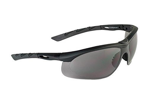 Swiss Eye Lancer Sonnenbrille Smoke Objektiv Schwarz Gummirahmen