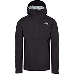 THE NORTH FACE Men's Millerton Jacket, TNF Black/High Rise Grey Camo Front Print, Medium