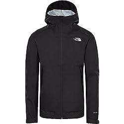 THE NORTH FACE Men's Millerton Jacket, TNF Black/High Rise Grey Camo Front Print, Medium