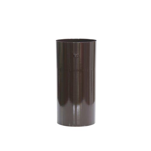 Tuyau de Raccordement R/ésistant /à la Corrosion et aux Temp/ératures jusqu/'/à 300/°C Kamino-Flam Tuyau de Po/êle en Acier /Émaill/é Blanc /Ø 120 mm x L 250 mm