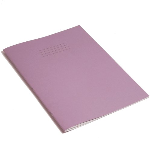 RHINO F8M A4 64 Page Exercise Book - Purple (Pack of 10)