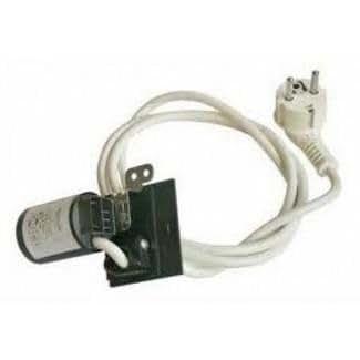 Cable d alimentation 3x1 schuko et filtre anti parasite pour lave linge lave linge indesit wixl106it