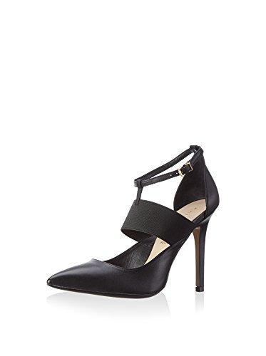 CAFè NOIR MC102 nero scarpe donna decolletè cinturino + elastico Nero