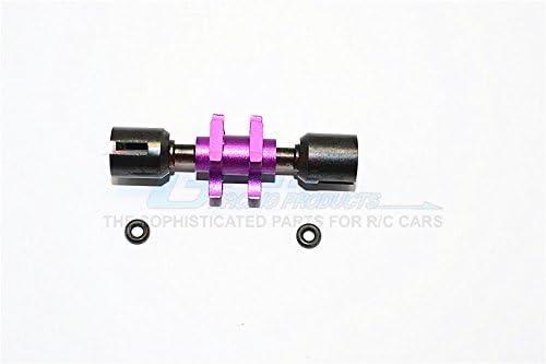 Tamiya TT-01 / TT-01D Upgrade Pièces Aluminium Front Front Front One-Way - 1Pc Purple e27641
