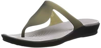 de7d3f0a22bd ... crocs Women s Rio Flip W Bronze and Espresso Rubber Flip-Flops and  House Slippers