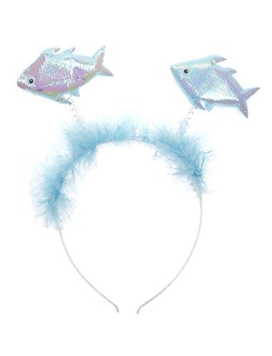 Haarreif Fische blau Keine Größe