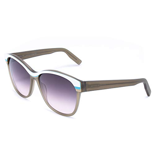 Italia Independent Damen 0048-001-000 Sonnenbrille, Grau (Gris), 55.0