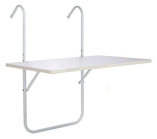 Mesa plegable para balcón 60 x 40 cm – Mesa colgante para balcón ...