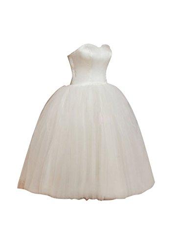 Find Dress Bustier robe de soirée mi longue robe de princesse/baptême rétro vintage col en cœur en Satin Elastique Jonquille