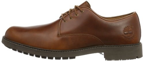 Timberland Stormbuck Plain Toe Waterproof, Oxfords Homme Marron (Medium Tan)