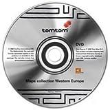 Tomtom Navigator MAPS WESTERN EUROPA ON DVD für Go 300/500/700/510/710/910/RIDER/ONE. Nicht kompatibel mit Navigator 5 und Mobile 5