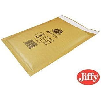 20 JL3 Jiffy Bags Padded Envelopes GOLD 220 x 320mm F//3