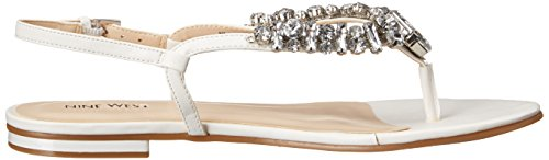 Nine West Zui Synthétique Tongs white
