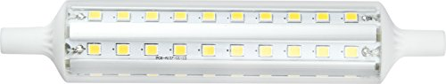 Maslighting 187827 - Lámpara LED lineal, regulable, R7s, 10 W, 118 mm,...