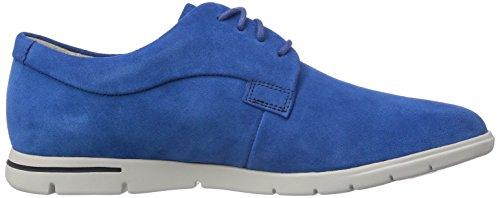Clarks Denner Motion Herren Sneakers Blau (Blue Suede)