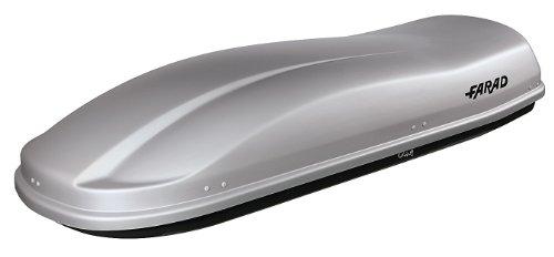 FARAD 1-92431 N/11 Dachbox MARLIN F3, 228 x 81 x 40 cm, 530 liter, Grau