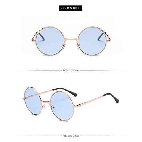 YHEGV John Lennon Brille Retro Prince Sonnenbrille Runde Freizeit Sonnenbrille Tourismus Mann Frauen Sonnenbrille