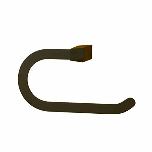 LDONGPENG LD&P Handtuchring Einfache Gummi-Handtuchring, Edelstahl-Bad-Racks Anhänger -