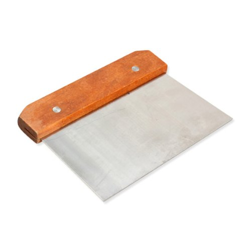 Tenflyer Hardwood Handle Soap Cutter Straight Stainless Wax Dough Slicer Soap Making
