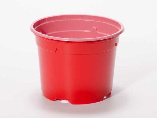Pot horticole DUO 17 cm rouge (x10)