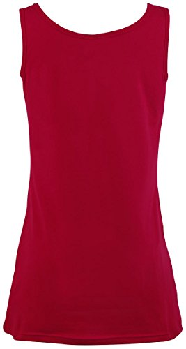 R.E.D. by EMP Basic Ladies Top Girl-Top rot Rot