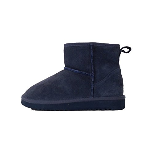 Dude Shoes Women's Sella Ladies Boot Indigo Suede