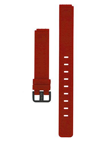 Bering Max Rene Armband Silikon Schwarze Schliesse 14 MM Rot - Serie : 12631