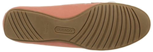 Sebago Meriden Two Eye, Mocassins femme Orange (Coral)