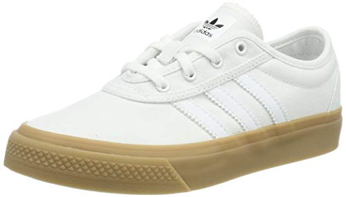 buy online 8be89 1430a adidas Adi-Ease J, Chaussures de Skateboard Mixte Enfant, Blanc FTWR White