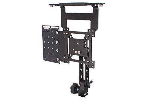 Portrait Landscape Rotation Monitors Universal - Vesa Pro Ball Lock Mount with Portrait/Landscape Rotation (17-Inch Monitors, Vesa Pro + Handle + Universal Plate)